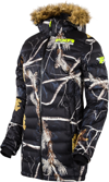 FXR Women's FUZE LONG DOWN CAMO JACKET