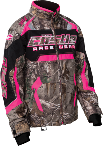 CASTLE X Girl's BOLT REALTREE® JACKET  - Realtree Xtra Hot Pink