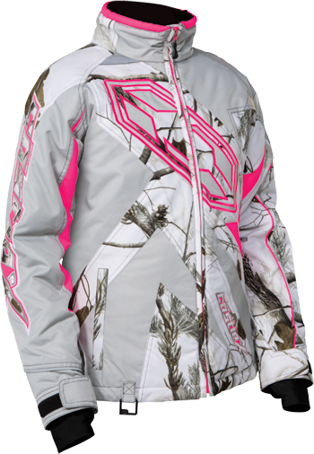 CASTLE X Girl's LAUNCH REALTREE® JACKET (2018) - Realtree AP Snow-Hot Pink