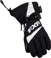 FXR Youth HELIX RACE GLOVE (2018) - Black-White