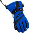 FXR Youth HELIX RACE GLOVE (2018) - Blue