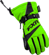 FXR Child HELIX RACE GLOVE (2018) - Electric Lime