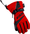 FXR Child HELIX RACE GLOVE (2018) - Red