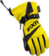 FXR Child HELIX RACE GLOVE (2018) - Yellow