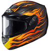 HJC CS-R2 FLAME BLOCK SNOW HELMET w/DUAL LENS SHIELD (2016)