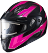 HJC CL-MAX II Women's RIDGE SN HELMET w/ELECTRIC DUAL LENS (2016)
