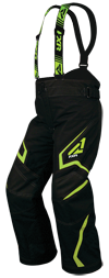 FXR Youth HELIX PANT (2018) - Black-Electric Lime