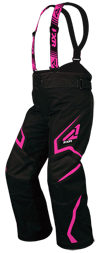 FXR Youth HELIX PANT (2018) - Black-Electric Pink