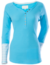 DSG HENLEY LONG SLEEVE THERMAL by Divas Snow Gear