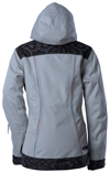 DSG Lace Collection Jacket by Divas Snow Gear - Light Gray