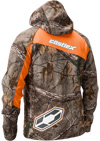 CASTLE X BARRIER TRI-LAM SOFTSHELL REALTREE® JACKET (2018) - Back View