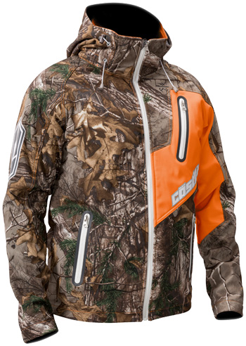 CASTLE X BARRIER TRI-LAM SOFTSHELL REALTREE® JACKET (2018) - Front View