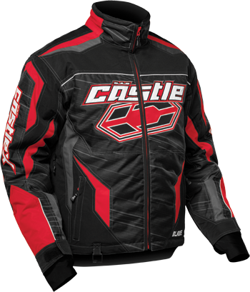 CASTLE X BLADE JACKET (2018) - Red