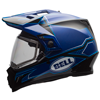 BELL MX-9 ADVENTURE HELMET - MATTE-GLOSS BLUE w/Electric Shield
