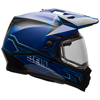 BELL MX-9 ADVENTURE HELMET - MATTE-GLOSS BLUE w/Dual Lens Shield