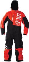 FXR Youth SQUADRON MONOSUIT (2018) - Red-Black-Charcoal