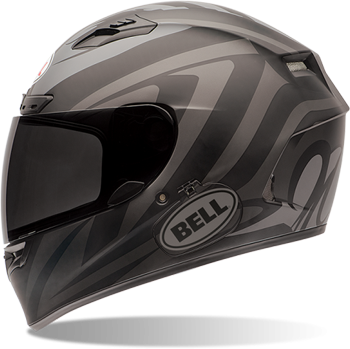 BELL QUALIFIER DLX HELMET - IMPULSE MATTE BLACK