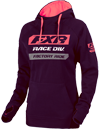 FXR Women's RACE DIVISION PULLOVER HOODIE (2019)