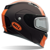 BELL REVOLVER EVO HELMET - MATTE RALLY ORANGE w/Electric Shield