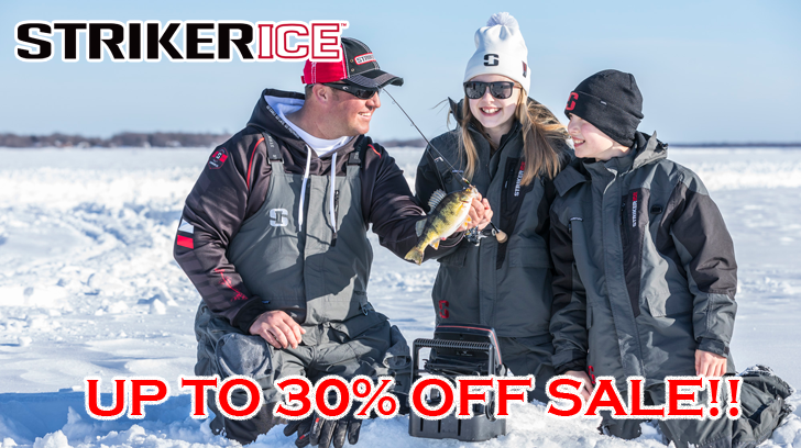 Striker Ice Sale I Fish Pro!