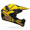 BELL SX-1 HELMET - STACK CHARCOAL-YELLOW
