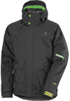 SCOTT MOTLEY TP JACKET - Black