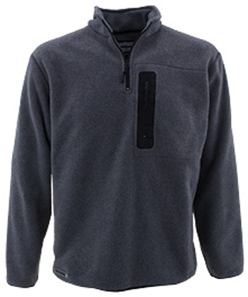 SLEDNECKS TEAM FLEECE TOP (2015) - Charcoal
