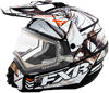 FXR Torque X Camo Helmet w/Electric Shield