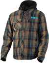 FXR TIMBER PLAID INSULATED JACKET (2018)