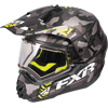 FXR TORQUE X SQUADRON CAMO HELMET w/Electric Shield (2017)