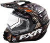 FXR TORQUE X SQUADRON CAMO HELMET w/Electric Shield (2016)