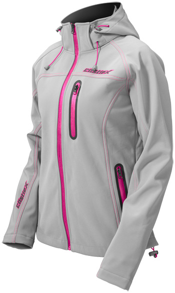 CASTLE X Women's BARRIER TRI-LAM JACKET - Magenta