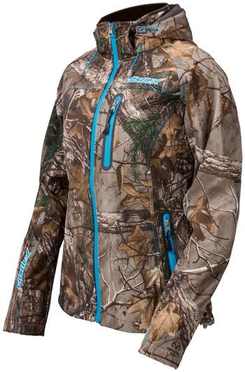 Castle X Women's Barrier Tri-Lam Realtree Jacket - Front View