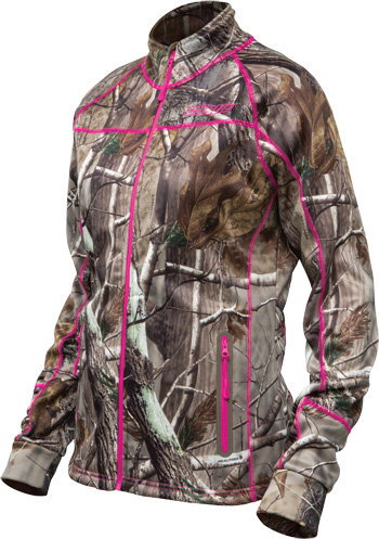 CASTLE X Women's FUSION MID-LAYER REALTREE® JACKET - Front View