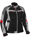 CASTLE Women's PASSION AIR JACKET - Gray-Red
