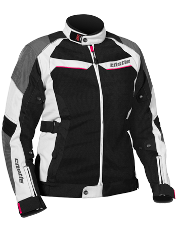CASTLE Women's PASSION AIR JACKET - White-Hot Pink
