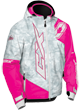 CASTLE X YOUTH STANCE JACKET (2018) - Alpha Gray-Pink Glo