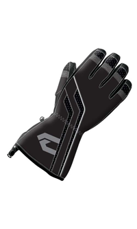 CHOKO Women's ALASKAN LEATHER GLOVES (2018) - Black