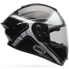 BELL RACE STAR HELMET - TRACER - Gloss Black-White