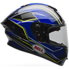 BELL RACE STAR HELMET - TRITON - Blue-Yellow