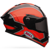 BELL STAR HELMET - PACE ORANGE-BLACK