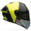 BELL STAR HELMET - SPECTRE BLACK-YELLOW
