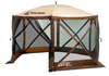 CLAM ESCAPE XL SCREEN SHELTER - BROWN/TAN/BLACK (10730)