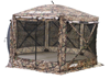 CLAM PAVILION SCREEN SHELTER - CAMO/BLACK (10810)