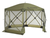 CLAM ESCAPE SCREEN SHELTER - GREEN/BLACK (9281)
