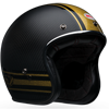 BELL CUSTOM 500 CARBON HELMET - RSD BOMB BLACK-GOLD MATTE-GLOSS