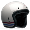 BELL CUSTOM 500 HELMET - STRIPES PEARL WHITE