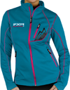 FXR Women's Elevation Full-Zip Fleece - Cyan