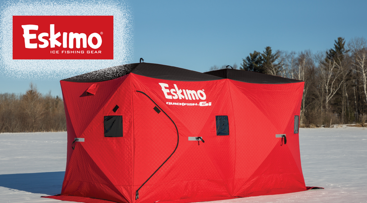 Ice Fishing - Pop-Up Shelters