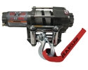 Extreme Max 3500 lb. Bear Claw Winch With Roller Fairlead and Cable